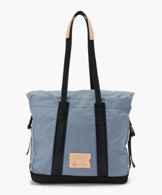 bleu de chauffe■BARDA/バルダトートバッグ ブルーグレー/ブラックBDC00012
