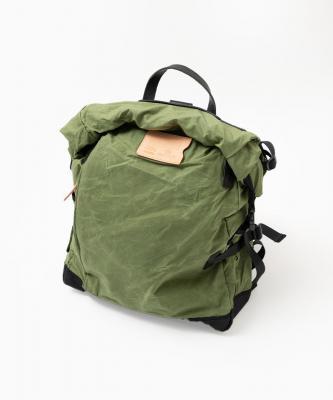 bleu de chauffe■BASILE/バジーレバッグパック  バンチャグリーン/ブラックBDC00018