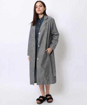 【GOOD STUDIOS】LINEN TRENCH/リネン トレンチ シャンブレーGOO00021