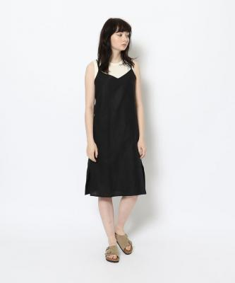 【GOOD STUDIOS】SLIP DRESS/スリップドレス ブラックGOO00094