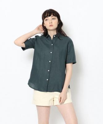 【GOOD STUDIOS】CLASSIC COLLAR SHORT SHIRT/クラシックカラーショートシャツ インディゴGOO00153