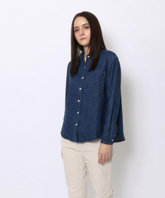 【GOOD STUDIOS】WOMENS TRAVEL SHIRT/トラベル シャツ デニムGOO00357