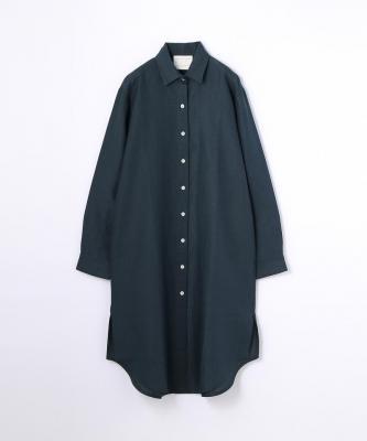 【GOOD STUDIOS】CLASSIC COLLAR SHIRTDRESS/クラシックカラー シャツドレス インディゴGOO00369