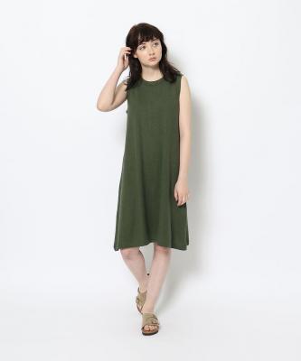 【GOOD STUDIOS】TANK DRESS/タンクドレス カーキGOO00519