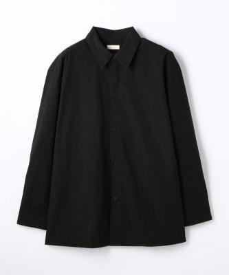 THE HINOKI■SHIRT/シャツ コットンボイル レギュラーカラー ブラックHNK00008