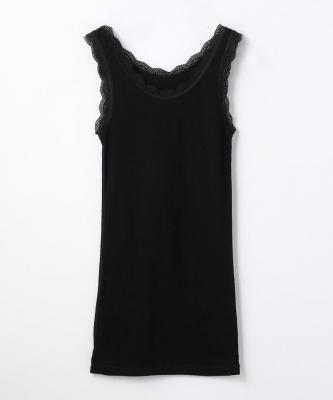【Joha】CECILIE/セシルウールアンダーシャツ  ブラックJOA00034