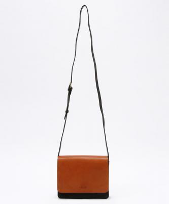 【O MY BAG】AUDREYMINI/オードリーミニ ブラック/キャメルOMY00005