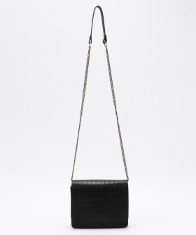 【O MY BAG】AUDREYMINI/オードリーミニ チェーン  ブラッククロコ
