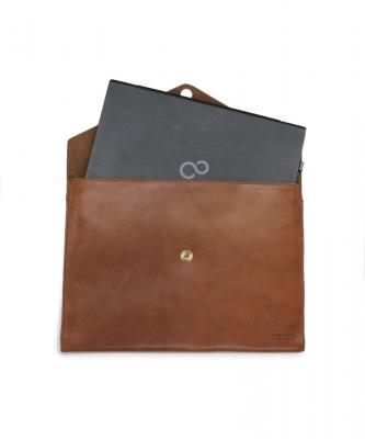 【O MY BAG】ENVELOPE /エンベロープ ラップトリップ スリーブ13 エコクラッシック キャメルOMY00043
