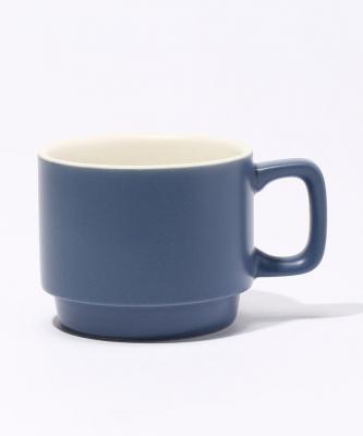【Quorinest】スタックコーヒーカップ ブルーQUO00005