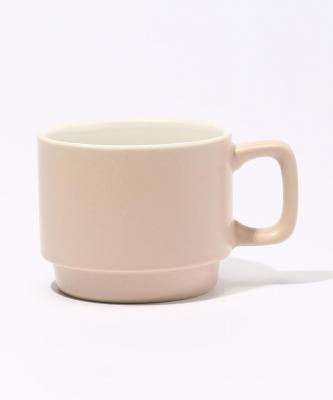 【Quorinest】スタックコーヒーカップ ベージュQUO00006