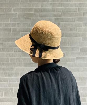 【田中帽子店】CHLOE/クロエ  ラフィアナチュラルTNH00002