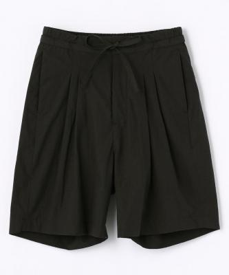 【UNDECORATED】SHORTS CTN POWDER CTN ELAST. SHORTS Sumi BLKUND00013
