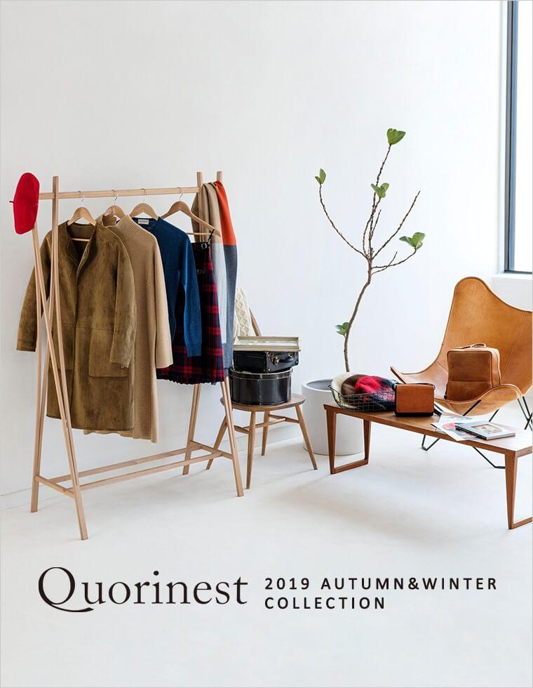 Quorinest 2019AW カタログ